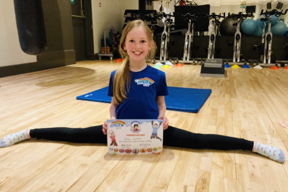 FitKidz Graduate With Individual Training