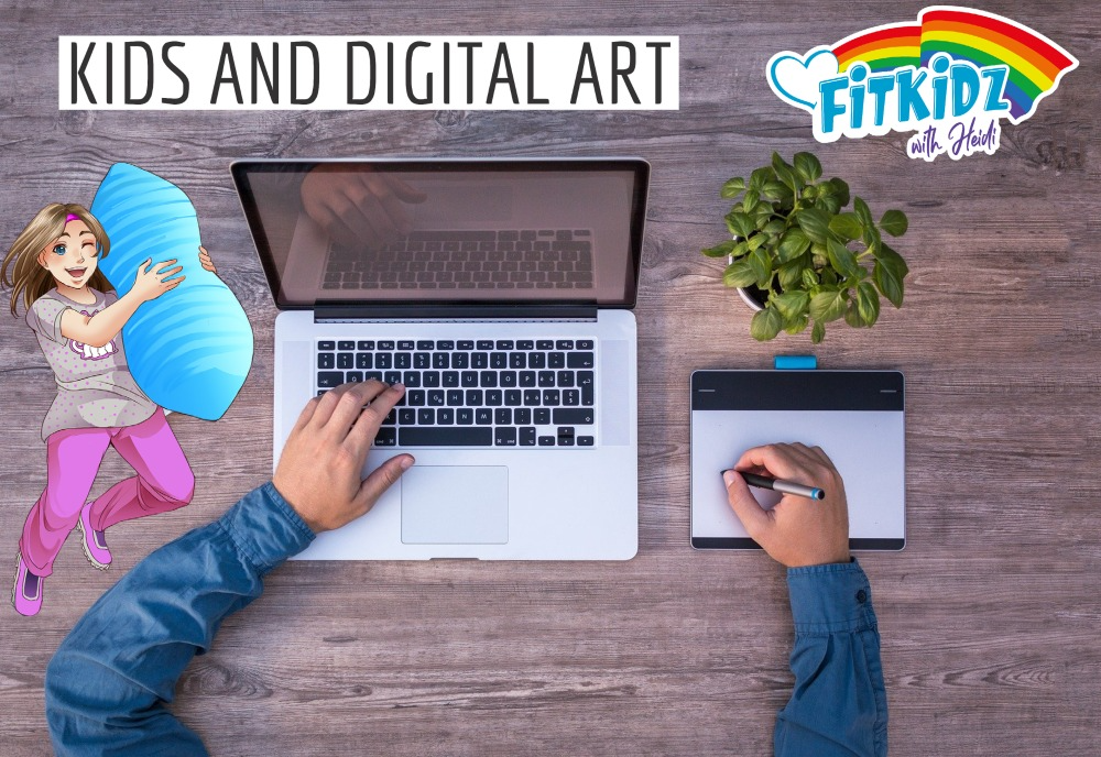 Kids And Digital Art Today